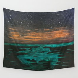Phosphorescent Plankton Wall Tapestry
