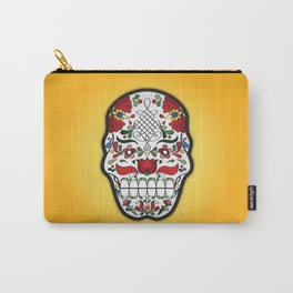 Coloured Matyo Skull Carry-All Pouch