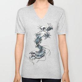 Mermaid Riot Unisex V-Neck