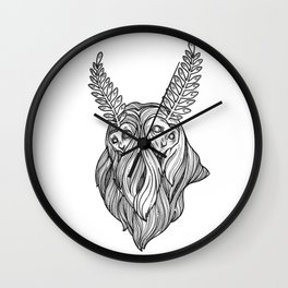 Lord of the Mountain Wall Clock
