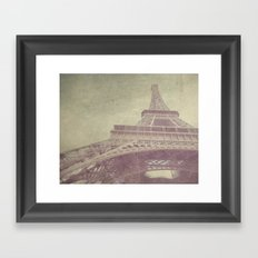 Paris love Framed Art Print