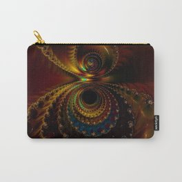 Mirror Fractal Carry-All Pouch