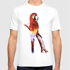 Polly Mens Fitted Tee White MEDIUM