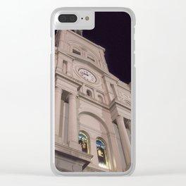 NOLA_22 Clear iPhone Case