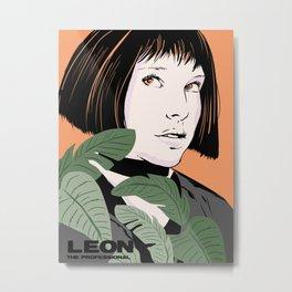 Mathilda portrait Metal Print