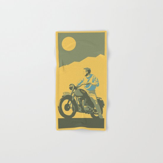 the great escape Hand & Bath Towel