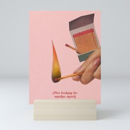 Light My Fire Mini Art Print
