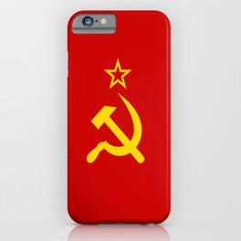 Flag of USSR iPhone Case