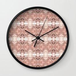 Wedding Bouquet Pattern Pastel Print #HomeDecor Wall Clock