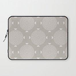 Foam Latte Rosette Lace Laptop Sleeve