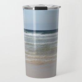 Sea shallows 2 , Hayle, Cornwall Travel Mug