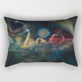 """Twenty Twelve Nataraja"" Rectangular Pillow"