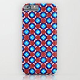 Satisfying mosaic pattern iPhone Case
