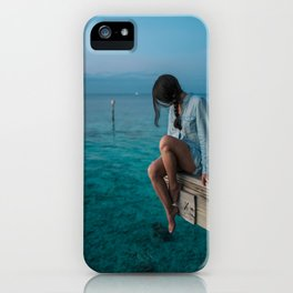 Three colors - Blue! iPhone Case
