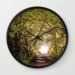 Homeward Wall Clock