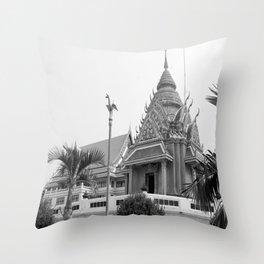 Maha chula Temple Throw Pillow