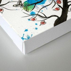 Growing Apart Canvas Print