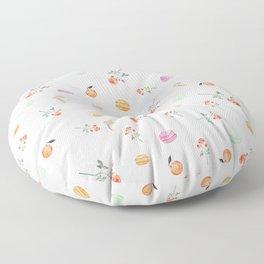 ROSES & MACARONS Floor Pillow