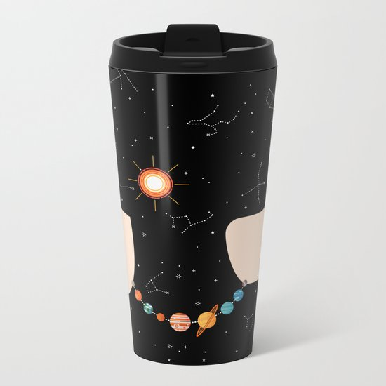 Miss Universe Metal Travel Mug