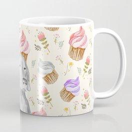 CUPCAKES AND WEIMARANER Coffee Mug
