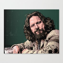 The Dude by STENZSKULL Canvas Print