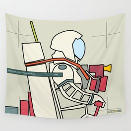 Astronaut 1969 Wall Tapestry