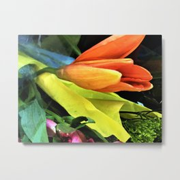 Opening Show Of Summers Florals Metal Print