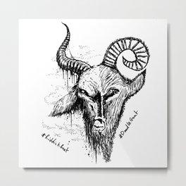 Baphomet Metal Print