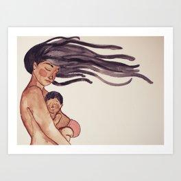 Momma Art Print