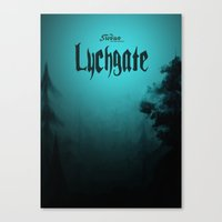 book cover Canvas Prints featuring Lychgate Book Cover 2.0 by SireneEntertainment