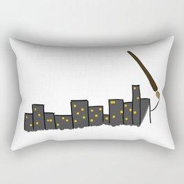 Paint the City Rectangular Pillow