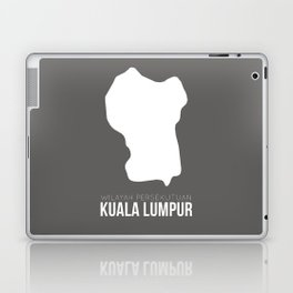 Kuala Lumpur State Map Laptop & iPad Skin