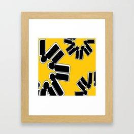 Maple Perfection Framed Art Print