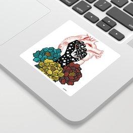 Lucha Sticker