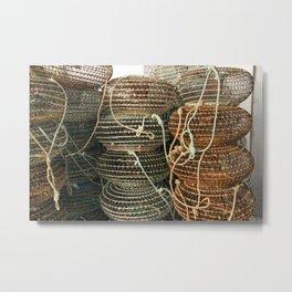 shellfish Metal Print