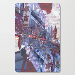 Yokohama Chinatown Cutting Board