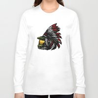 master chief Long Sleeve T-shirts featuring The Chief by Figgy