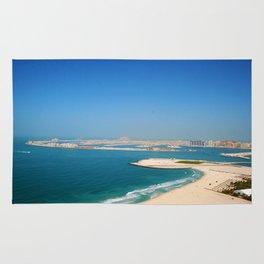 Dubai - Jumeirah Beach Coastline Rug