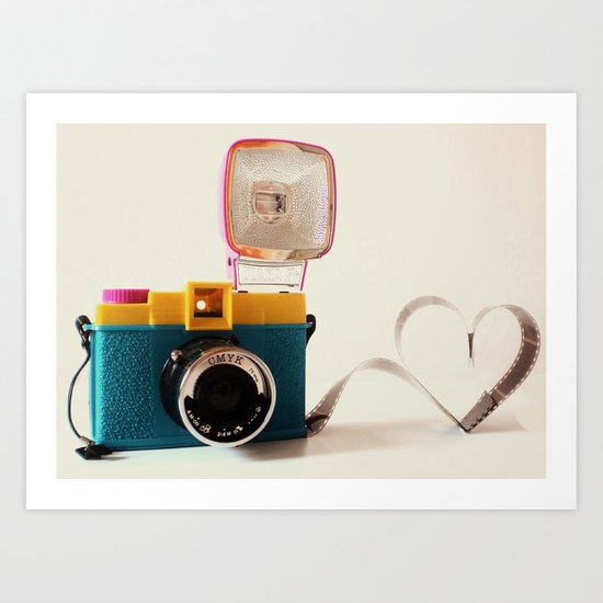 Lomo Love Art Print