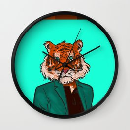 Tiger Beat Wall Clock