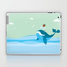 having a good time with my best friend Laptop & iPad Skin
