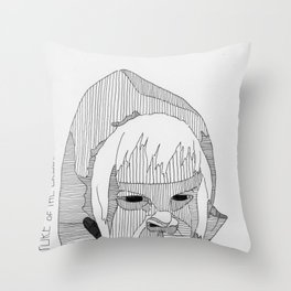 Creature of the Brood. Throw Pillow