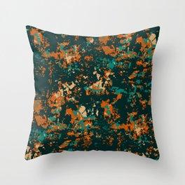 Night time flowers Throw Pillow