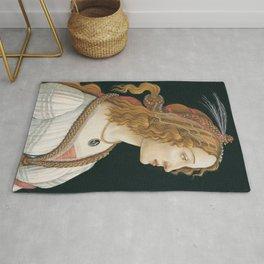 Sandro Botticelli - Idealized Portrait of a Lady Rug