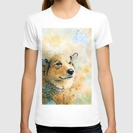 Dog 143 Corgi T-shirt