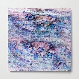 Marble River Metal Print