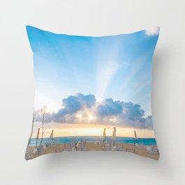 Resort Throw Pillow