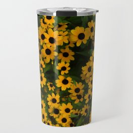 Brown Eyed Susans Travel Mug