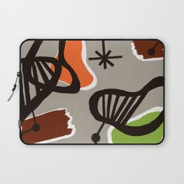 Mid Century Art Backcloth Inspired Laptop Sleeve
