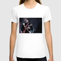 jack white T-shirts featuring Jack White Airline Satan by Christopher Chouinard